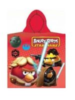 ANGRY BIRDS PONČO BRISAČA Red